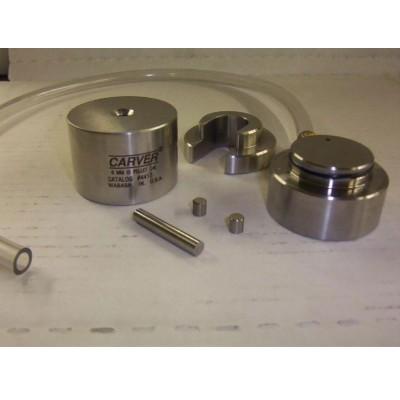 Цилиндрическая вакуумная пресс форма 6 мм Carver