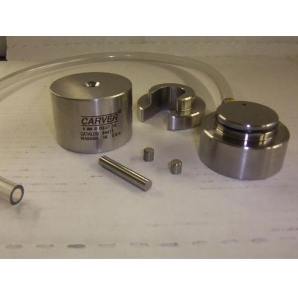Цилиндрическая вакуумная пресс форма 6 мм