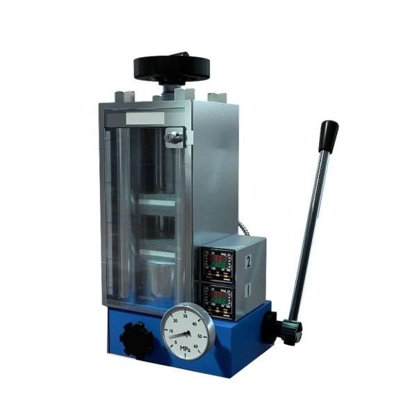 Лабораторный ручной пресс с нагревом РП1Н-60 (60 тонн)